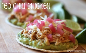 hatch chili chicken tostada words