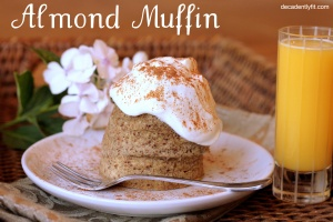 almond muffin words