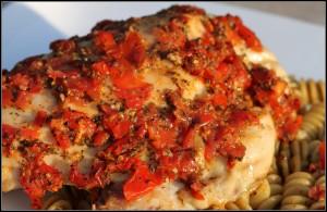 bruschetta chicken border